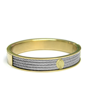 Charriol Forever - Bangle, Stainless Steel & Yellow 04-104-1139-6