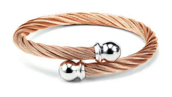 Charriol Celtic - Rose Gold Stainless Steele Bangle 04-201-1216-0