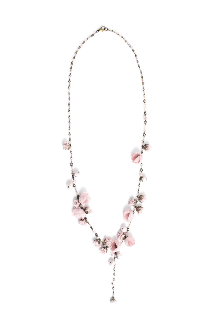 Aurora Necklace Ballerina Rose