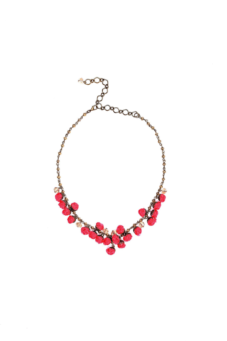 Blossom Necklace Candy Apple