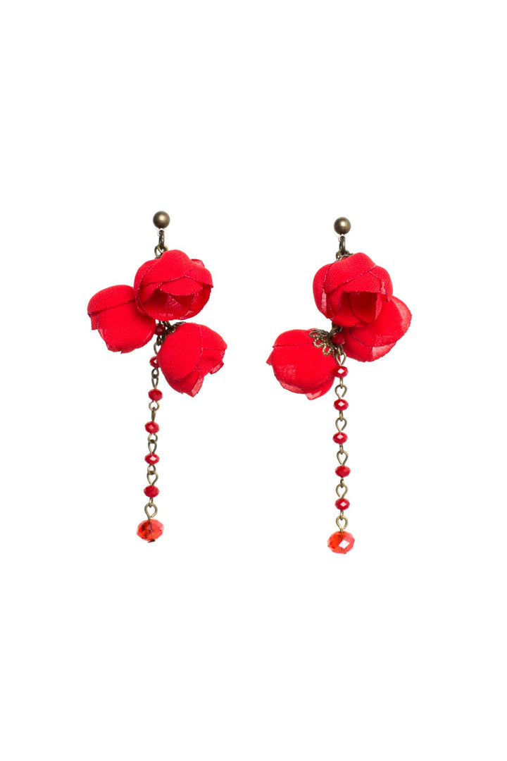 Serenity Earrings Devine Red