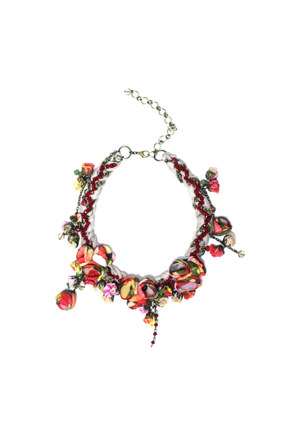 Anna Necklace Desert Red