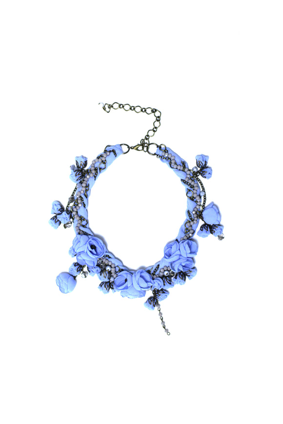 Anna Necklace Santorini Blue