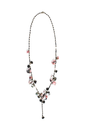 Aurora Necklace Black Rose