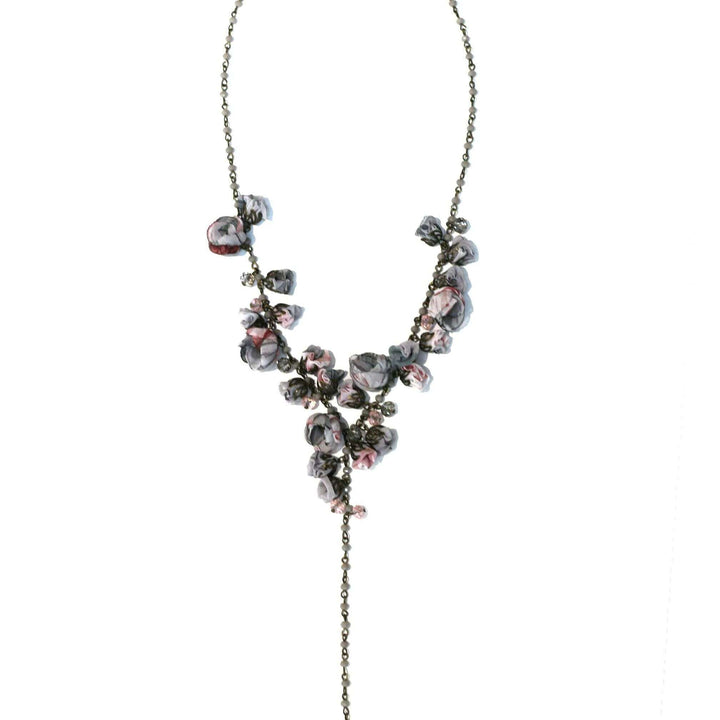 Claudia Necklace Cashmere Glass