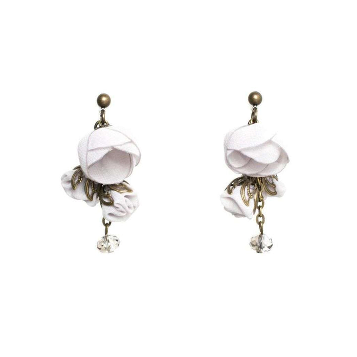Annais Earrings Grey Quartz