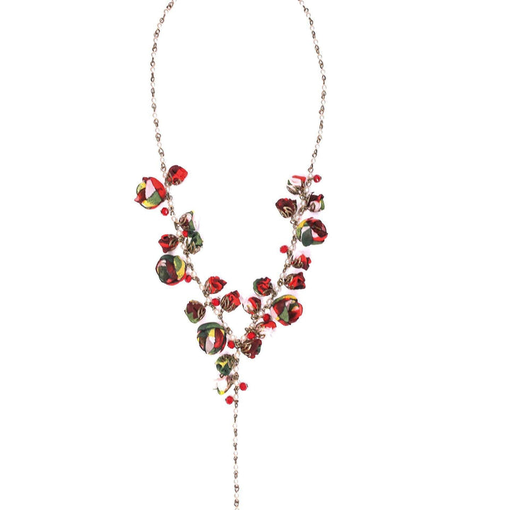 Claudia Necklace Redberry