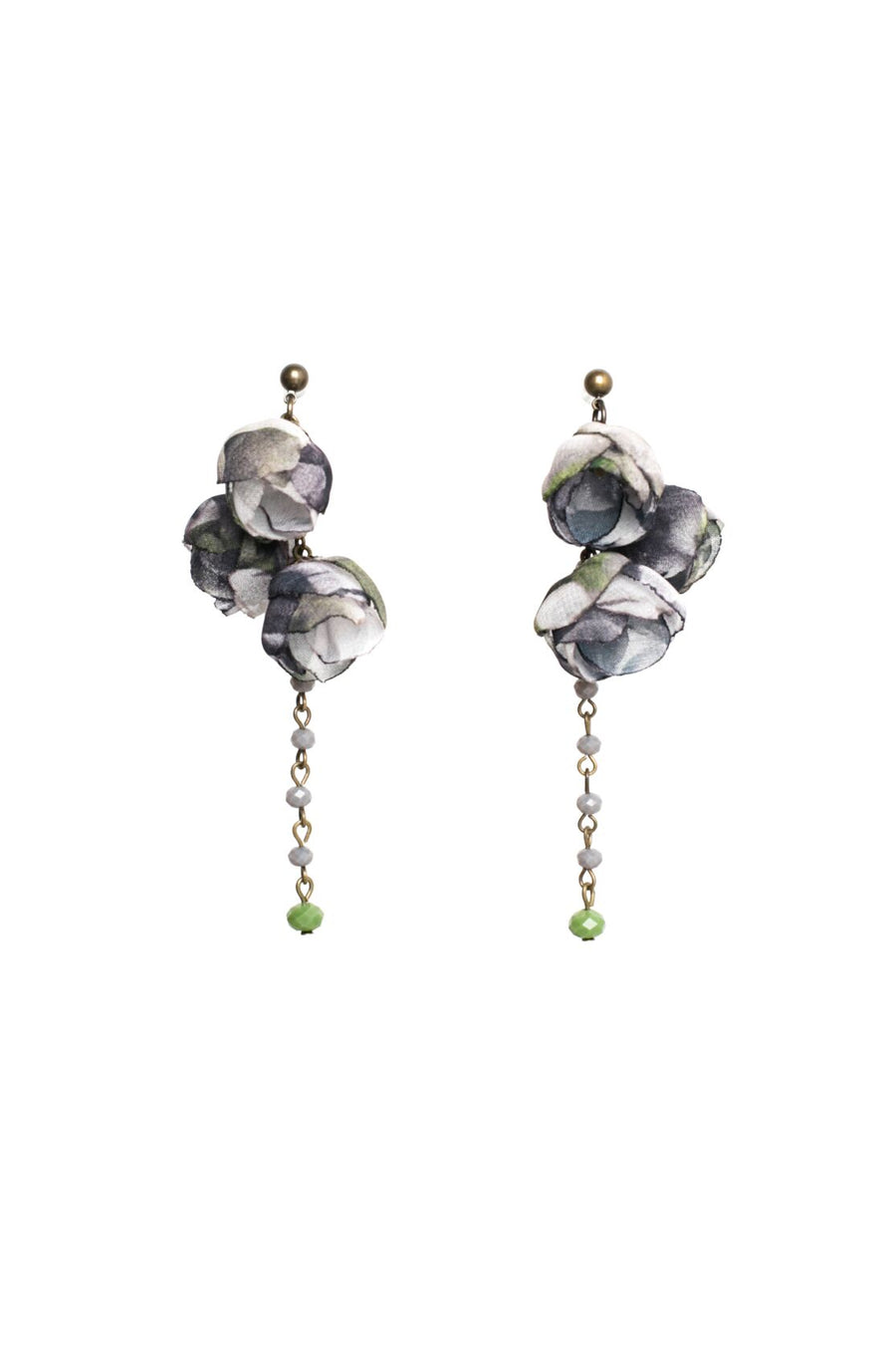 Serenity Earrings Chateau Grey
