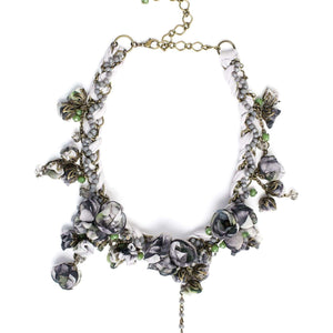 Anna Necklace Chateau Grey