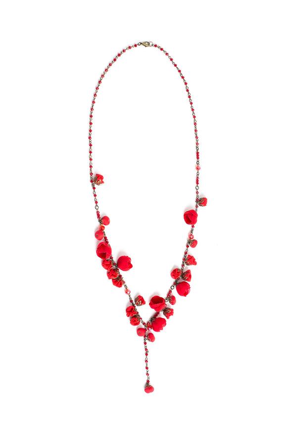 Aurora Necklace Devine Red