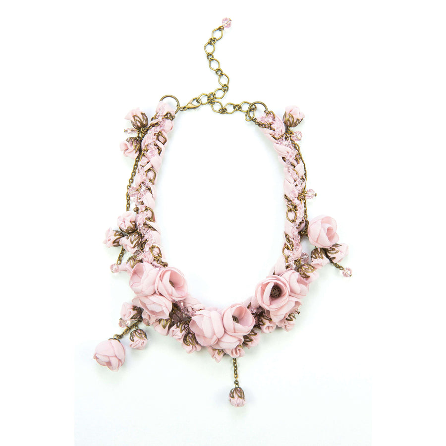 Anna Necklace Ballerina Rose