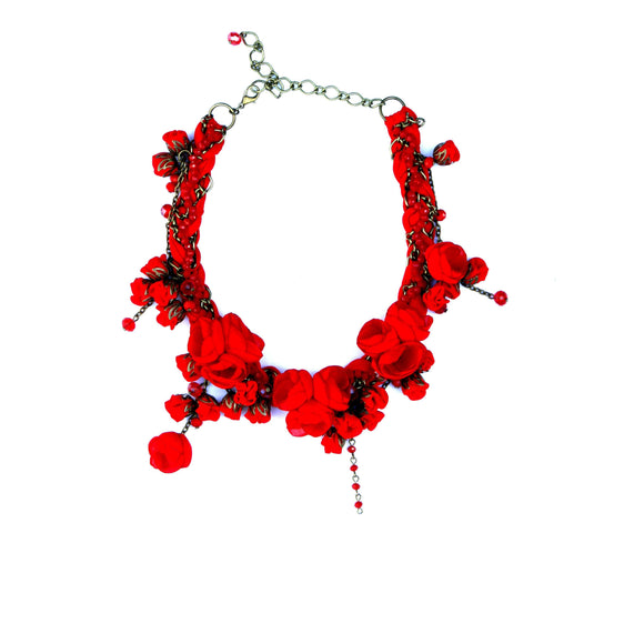 Anna Necklace Devine Red