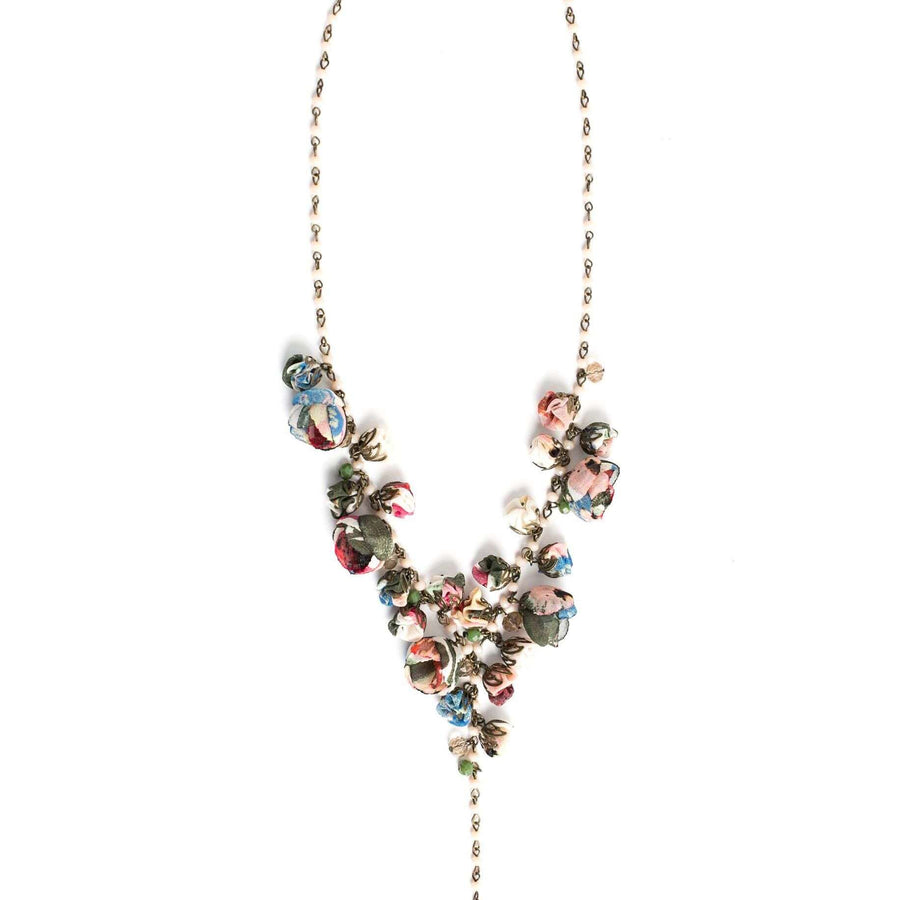 Claudia Necklace Vintage Forest