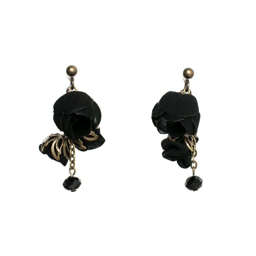 Annais Earrings Black Night