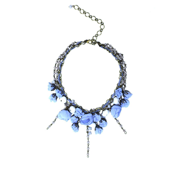 Georgeana Necklace Blue Lagoon