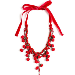 Ella Necklace Devine Red