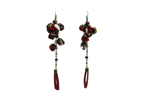 Poppy Earrings Redberry