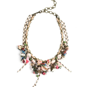 Georgeana Necklace Vintage Forest