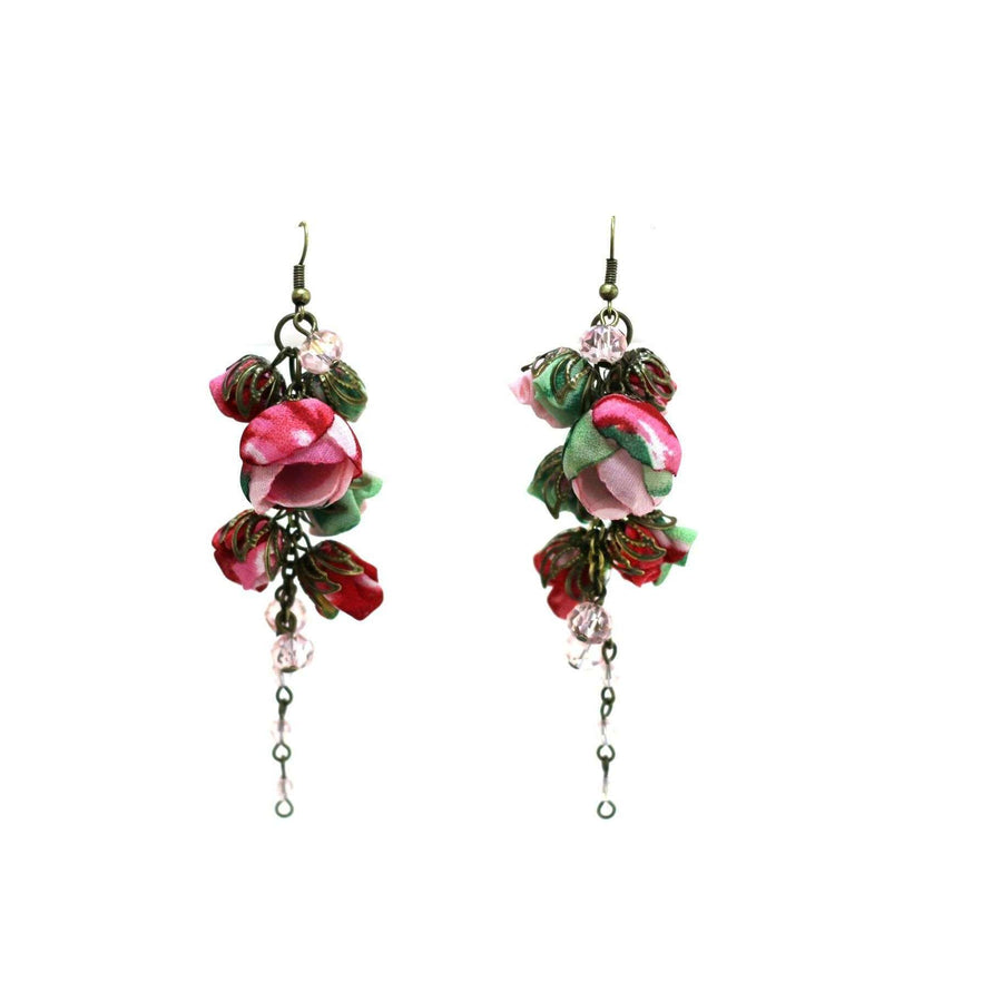 Gabrielle Earrings Rose Vale