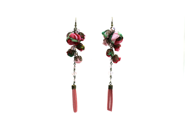 Poppy Earrings Rose Vale