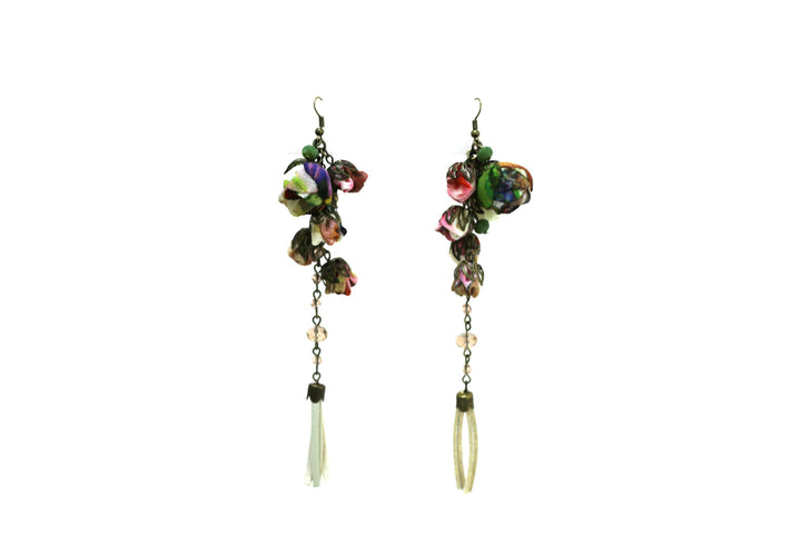 Poppy Earrings Desert Cactus