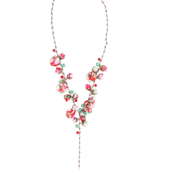 Claudia Necklace Rose Vale