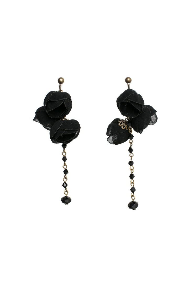 Serenity Earrings Black Night