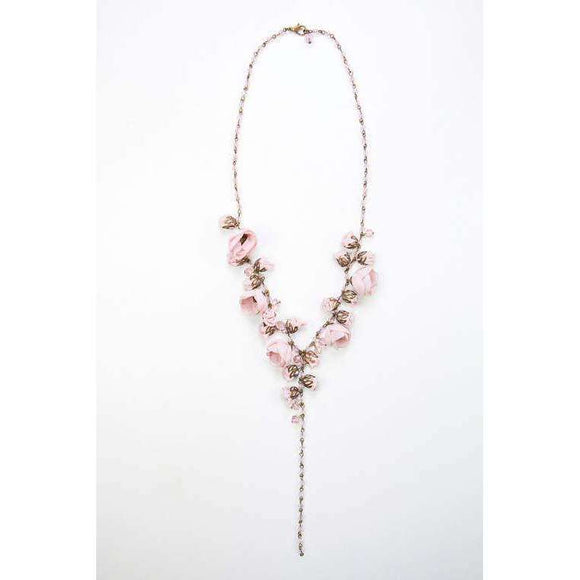 Claudia Necklace Ballerina Rose