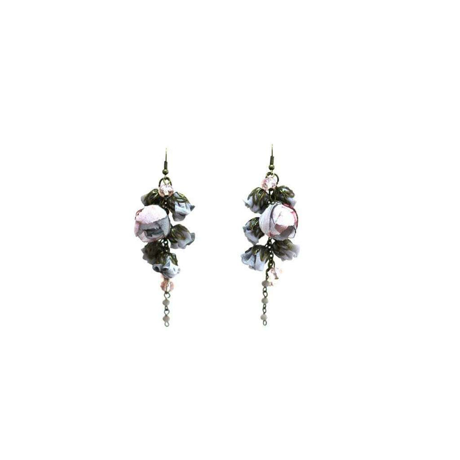 Gabrielle Earrings Cashmere Glass