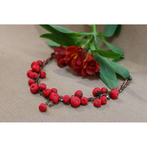 Gemma Necklace Candy Apple