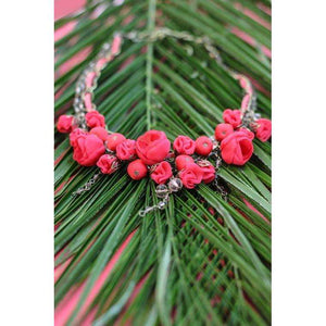 Georgiana Necklace Candy Apple