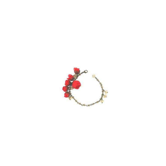 Poppy Bracelet Candy Apple