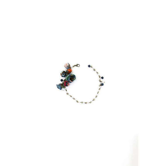 Poppy Bracelet Faded Denim