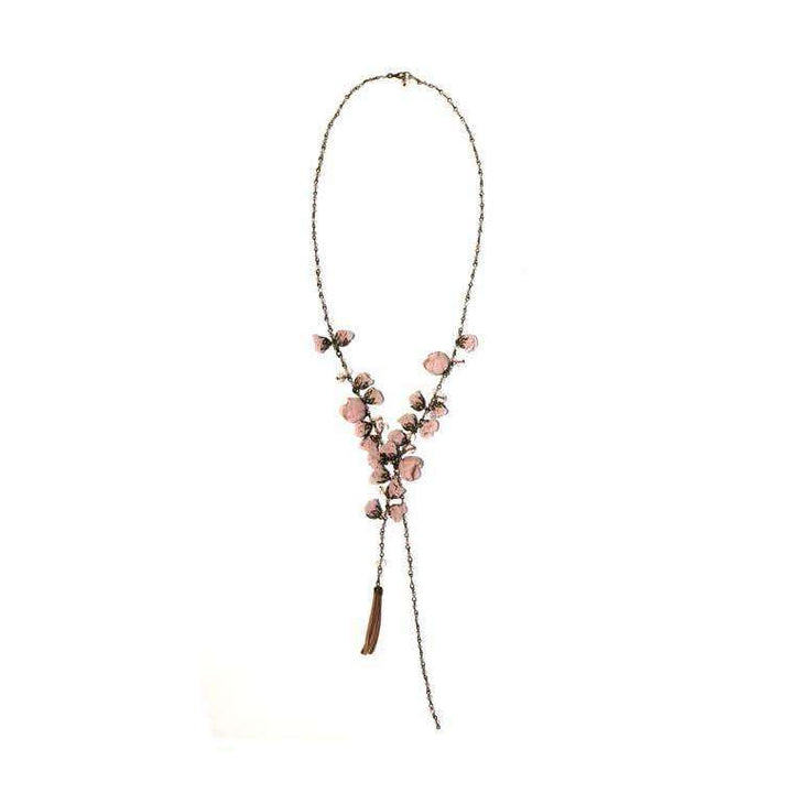 Poppy Necklace Ballerina Rose