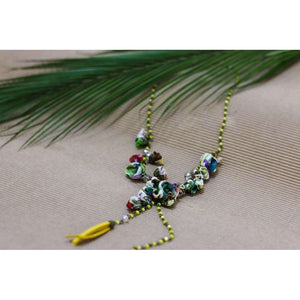 Poppy Necklace Desert Cactus