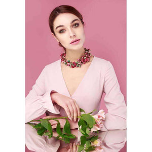 Sata Necklace Rose Vale