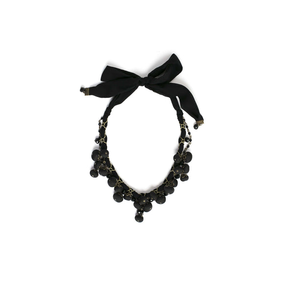 Gemma Necklace Black Night