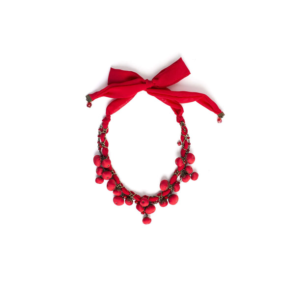 Gemma Necklace Devine Red