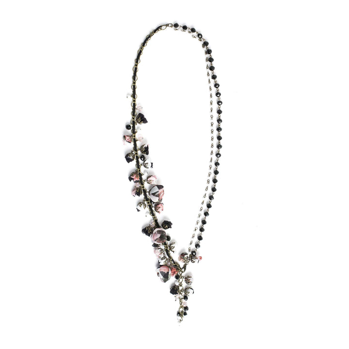 Ofelia Necklace Black Rose
