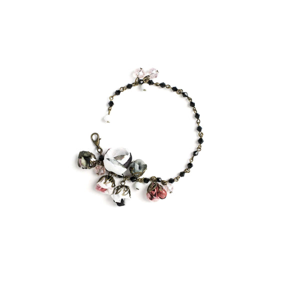 Poppy Bracelet Black Rose
