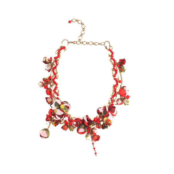 Anna Necklace Redberry