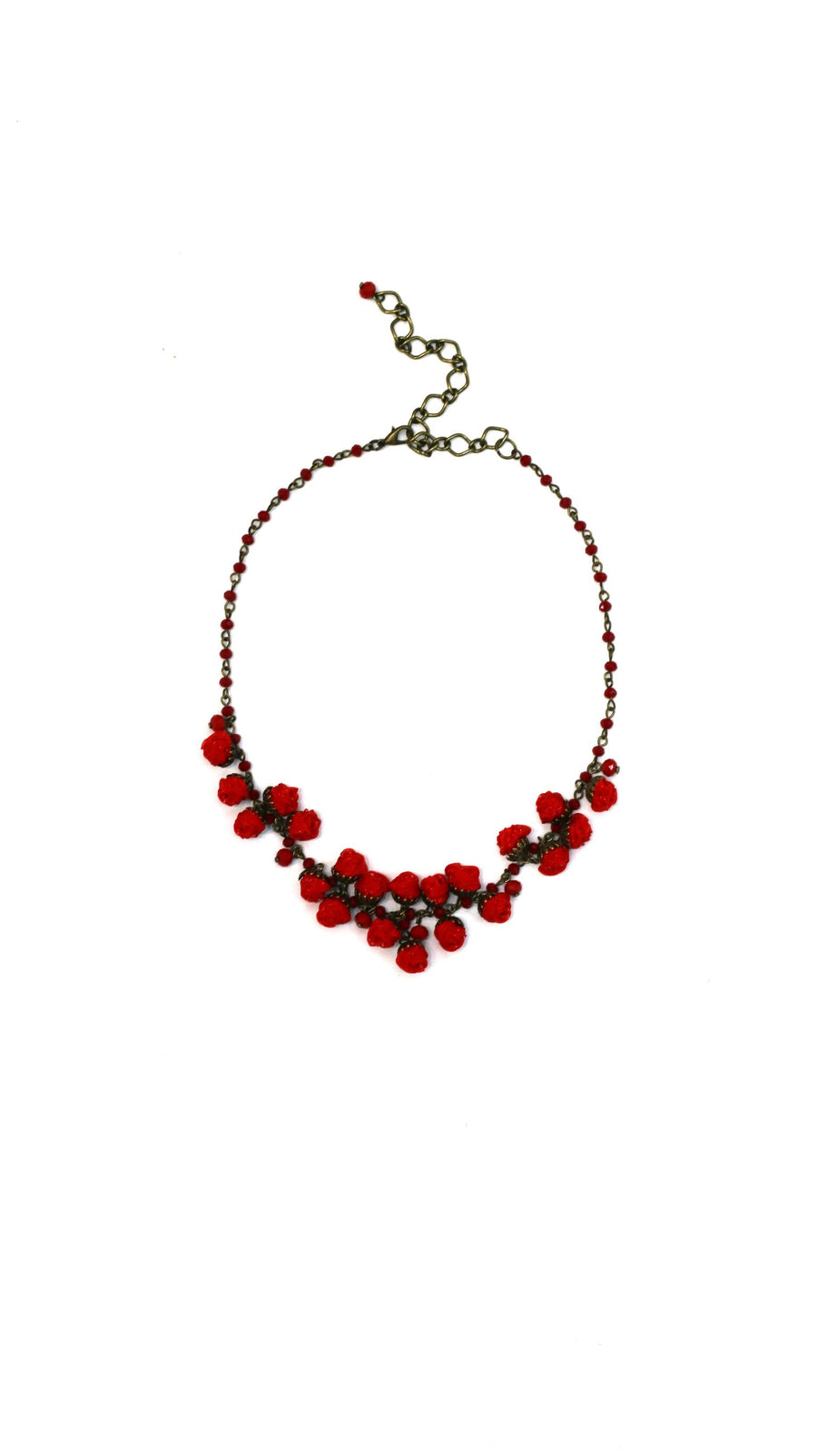 Blossom Necklace Redberry