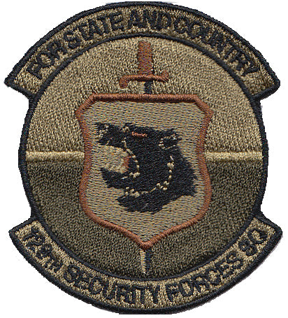 129 SFS - Spice Brown OCP Patch - 2 Pack