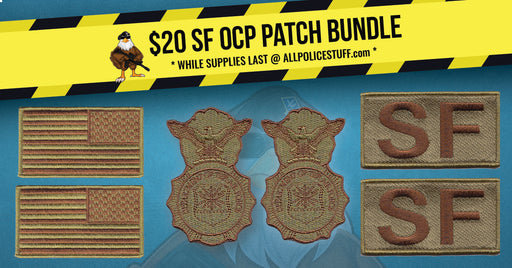 USAF Security Forces / Defender SF OCP Patch Bundle