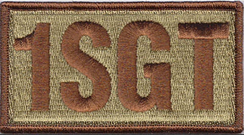 First Sergeant (1SGT) Shoulder Multicam/OCP Patch - 2 Pack
