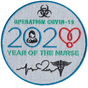 2020 COVID-19 Nurse Patch