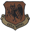 432d Wing - Spice Brown OCP Patch - 2 Pack