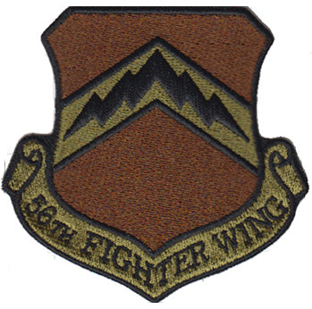 56th Fighter Wing Spice Brown Patch - 2 Pack