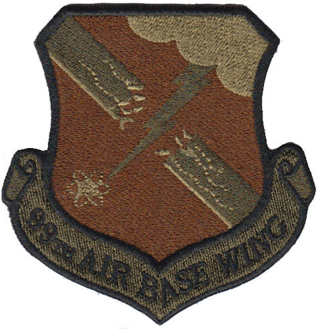 99th Air Base Wing (ABW) Spice Brown OCP Patch - 2 Pack