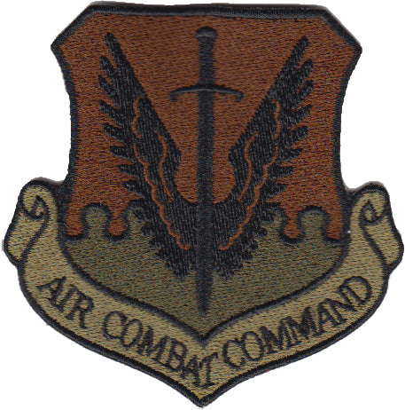 Image of Air Combat Command (ACC) Majcom Spice Brown OCP Patch - 2 Pack